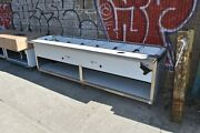 108 Steam Table All Stainless Steel 8 Pans Natural Gas - Nsf Approved