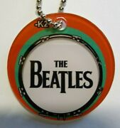 The Beatles Pinball Machine Keychain Drum Head Rock And Roll Music Gift For Dad