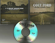 Colt Ford And Jason Aldean Drivin Around Song Rare Edit 3 Times Promo Dj Cd Single