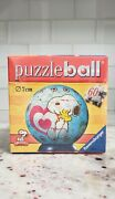 Ravensburger Peanuts Snoopy Puzzleball New Sealed Hard To Find