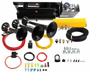 Kleinn 230 Beast Triple Abs Train Horn Kit For 11-15 Ford Super Duty F-250 F-350