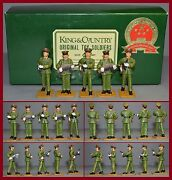 King And Country Peopleand039s Liberation Army Lot Of 5 Marching Aa-11400/s3