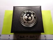 M And Mand039s Mars Little Guy 25th Anniversary 1958-1983 Very Rare Silver Coin Case
