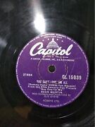 Dean Martin Evening In Roma/you Canand039t Love India Indian Rare 78 Rpm Record Vg+