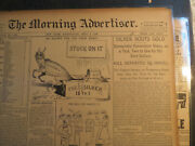 Numismatic Coins History Newspaper 1896 Silver Routes Gold Democrat Convention