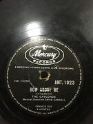 The Gaylords How About Me/again Rare 78 Rpm Record 10 India Vg-