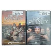 Set Of 2 Best Of Duck Dynasty - In The Blind And Call Of The Wild Factory Sealed