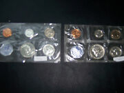 1959-p And 1963-p Mint Set Uncirculated Us Silver Coin Lot