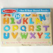 See And Hear Alphabet Sound Song Puzzle Melissa And Doug