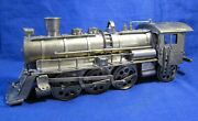 Brass Russian Steam Locomotive Aphtor's Signed , Small Elements, Handmade, 3,3kg