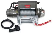 Warn 27550 Xd9000i Series 12v Electric Winch W/ 9000 Lb Capacity 125 Ft Rope