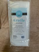 Be Basic Cradle Bumper 200 Thread Count Ivory 108 X 6 X 1