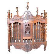 19th Century Antique French Panetiere Bread Storage Cupboard Can Hang