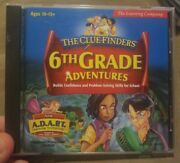 The Cluefinders 6th Grade Adventures - Learning Software Cd Tutor Homeschooling