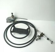 Teleflex Boat Steering Helm Cable With 13.5 Steering Wheel 14and039 Total Len