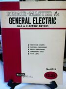 Repair-master For General Electric Gas And Electric Dryers No. 8052