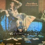 Woody Woodmansey Signed 12x12 Photo - David Bowie The Man Who Sold The World 2.