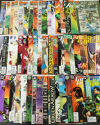 Large 100 Issue Green Arrow Comic Book Lot Black Canary And More Dc Comics Bbx47