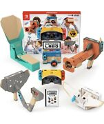 Nintendo Labo Toy-con 04 Vr Kit -switch Game Present Cardboard Software New