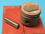 Bmw 1500 1962-1964 Mahle Engine Piston Set W. Rings And Pins 83 Mm Oversize 4 Nos
