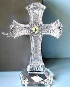 Waterford Clare Standing Cross Spirituality Sculpture 9.5h 136709 New In Box