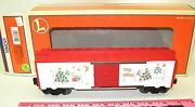 Lionel New 6-36212 2000 Employee Christmas Boxcar