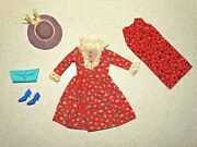 Barbie Vintage Complete Japanese Exclusive 2626 Floral Outfit