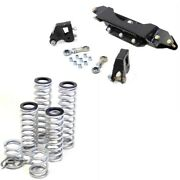 Rt Pro 2 Lift Kit And Standard Rate Spring Bundle For Polaris Rzr Trail 50