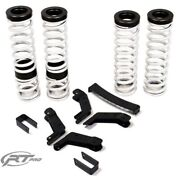 Rt Pro 2 Lift Kit And Medium Rate Spring Bundle For Can Am Commander Xt / Max