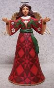 Figurine Jim Shore Christmas Herald Angel Delivering Good News New With Gift Box