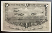 1930 Prague Czechoslovakia Real Picture Postcard Cover To Prichovice Aviation