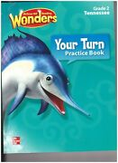 Blmcgraw-hill Reading Wonders Your Turn Practice Book Grade 2 Tennessee Ed