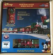 Lionel 6-82716 Disney Mickeyand039s Holiday To Remember Christmas Lionchief Train