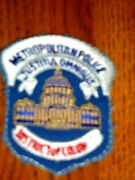 Metropolitan Police District Of Columbia Justitia Omnibus Sewing Patch