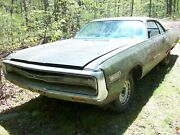 1971 Chrysler 300 2dr Ht Salvage Parts Car 71 New Yorker C-body No Paperwork