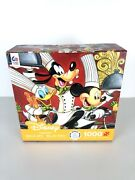 Disney Fine Art 1000 Piece Puzzle By Ceaco. New Made In Usa Mickey Mouse Goofy