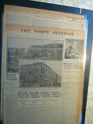 Titanic History Newspaper 1912 Police Stop Fake Movies +wreck Of Titanic Story
