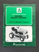 Allis Chalmers Operators Manual For Model 800gt Series Lawn And Garden Tractors
