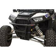 Tusk Black Impact Front Bumper For 14-20 Polaris Ranger Rzr Xp S S4 900 And 1000
