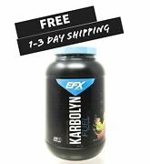 Efx Sports Karbolyn Fuel 4lb Carbohydrate Powder Glycogen Muscle +free Samples