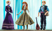 Disney Frozen Anna Elsa And Kristoff - 17 Dolls Limited Edition Collectible