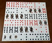 Brut Playing Cards Uncut Sheet - By Uusi Signed Uncut Card Deck
