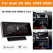 Android Car Gps Touch Screen Head Units For Audi A6 A6l C6 4f 2005-2009 2+32g