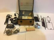 Vintage Lot Of Professional Dental Equipment W/ Mighty Light