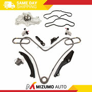Timing Chain Kit Water Pump Fit 11-12 Ford Fusion Taurus Lincoln Mkz 3.5l Dohc
