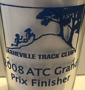Michelob Ultra Pint Beer Glass - 2008 Asheville Track Club Cross Country Running