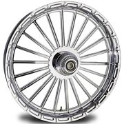 2000-2020 Harley Davidson Chrome 21 Inch Front Wheel W/floating Rotors Capone