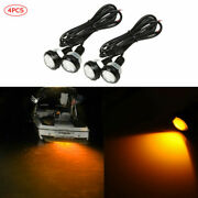 4x Yellow Led Boat Light Waterproof Outrigger Spreader Transom Underwater Troll