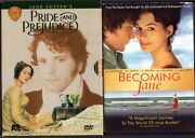 Pride And Prejudice 200th Anniversary Edition Aande And Becoming Jane Dvd Lot