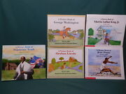 Lot Of 5 Books David Adler Picture Book Biographies